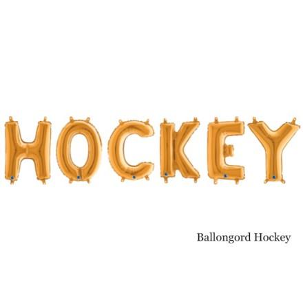 Ballongord - Hockey, guld