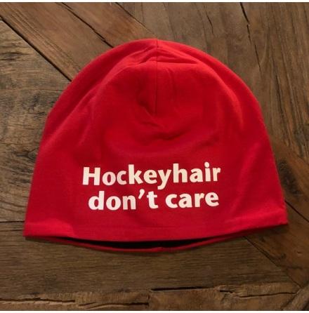 Mössa Hockeyhair - röd