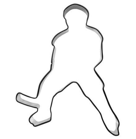Kakform - Hockeyspelare, 10 cm