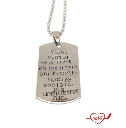 Halsband - Favorithockeyspelare - Uppfostrar min