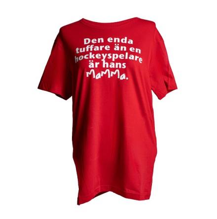 T-shirt - Hans mamma - röd