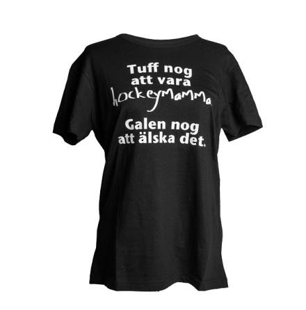 T-shirt - Tuff nog - svart
