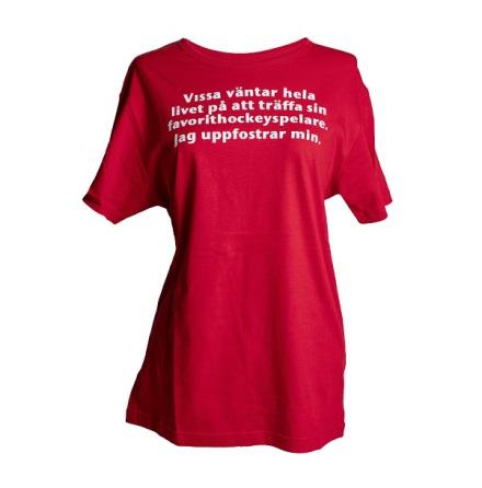 T-shirt - Uppfostrar min - röd